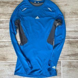 Adidas tech fit long sleeve training shirt